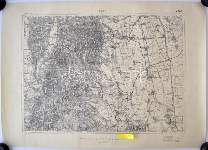 szikszó térkép cca 1930 Vegyes térkép tétel, 5db: Füzér, Sárospatak, | Darabanth Kft. szikszó térkép