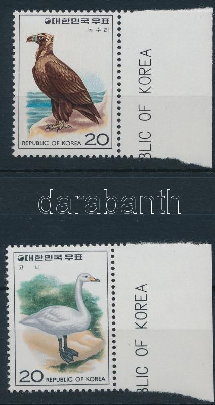 Birds margin set, Madár ívszéli sor