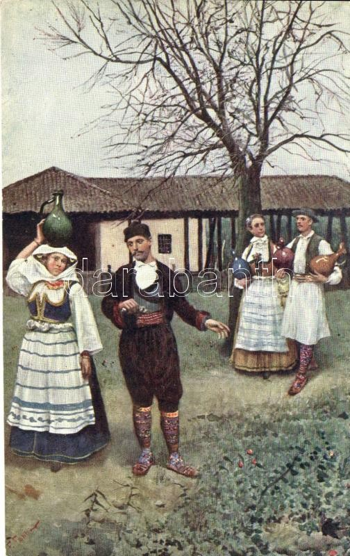 'Greeting from Serbia' / Serbian folklore, Szerb folklór