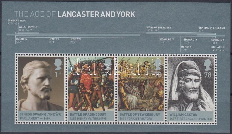 Brit monarchia (I.) Lancaster és York ház blokk, British Monarchy (I) Lancaster and York House block