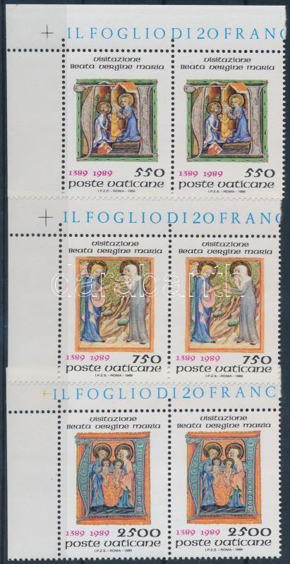 Mary representations initials set corner pairs, Mária ábrázolások iniciálékban sor ívsarki párokban