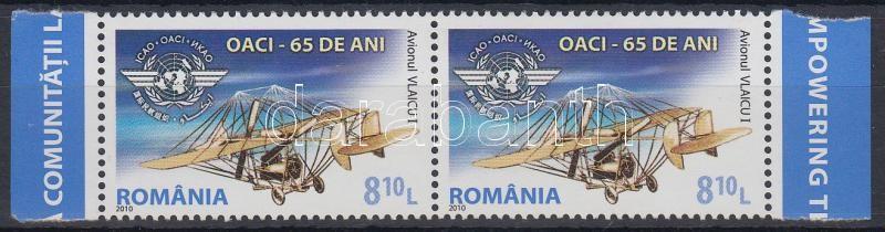 International Civil Aviation Organization margin pair, 65 éves a Nemzetközi Polgári Repülési Szervezet ívszéli pár
