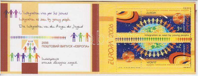 Europa CEPT, Integráció bélyegfüzet, Europa CEPT, Integration stamp-booklet