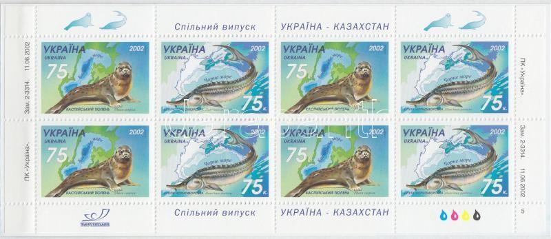 Animals stamp booklet, Állatok bélyegfüzet