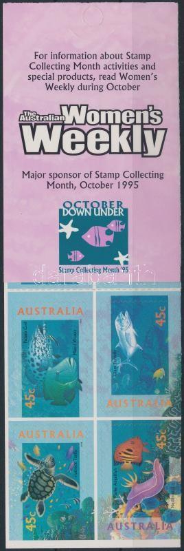 Tenger élővilága öntapadós bélyegfüzet, Marine life self-adhesive stamp-booklet