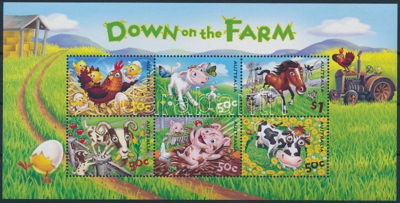 Livestock block, Haszonállatok blokk