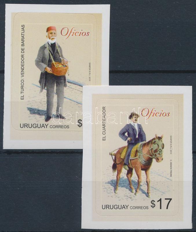 Definitive: Professions self-adhesive stamps, Forgalmi: Szakmák öntapadós bélyegek