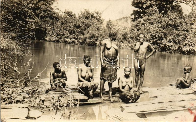 African folklore, ethnic nude, photo, Akrikai folklór, fotó