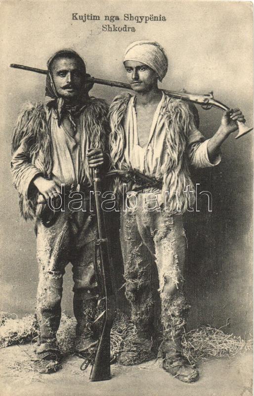 Kujtim nga Shqypenia Shkodra / Albanian militants from Shkodra, Shkodra, albán harcosok