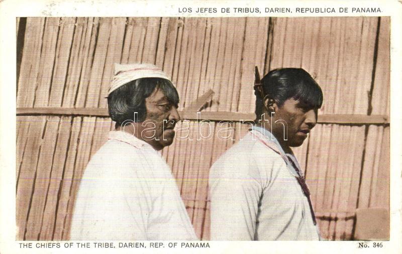 The Chiefs of the Tribe, Darien, Republic of Panama, A törzsek vezetői, Darién Panamai Köztársaság
