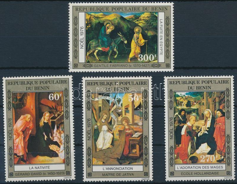 Christmas paintings set, Karácsonyi festmények sor