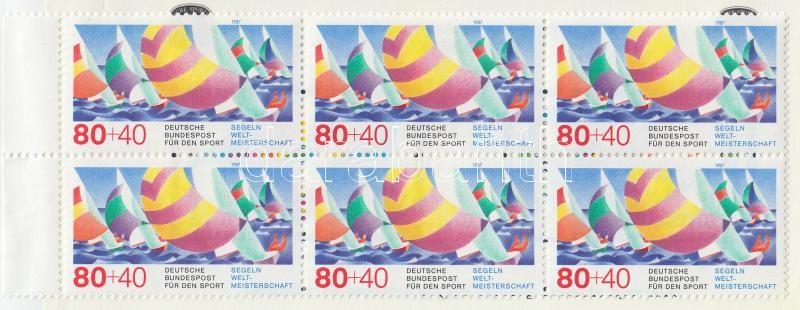 Sporthilfe stamp-booklet, Sporthilfe bélyegfüzet