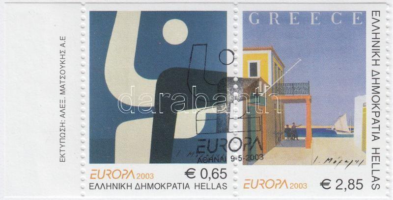 Europa CEPT poster art stamp booklet, Europa CEPT plakátművészet bélyegfüzet