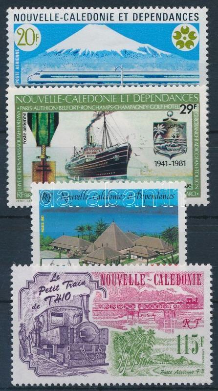 1970-1993 4 klf bélyeg, 1970-1993 4 stamps