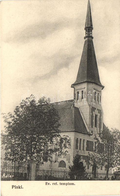 Piski, Simeria; Evangélikus Református templom, kiadja az Adler | Darabanth Kft.