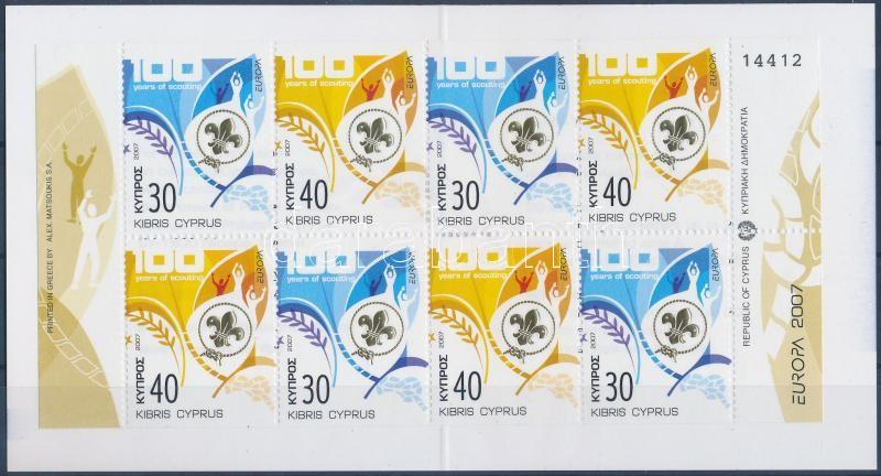 Europa CEPT: Scouting stamp booklet, Europa CEPT: Cserkész bélyegfüzet