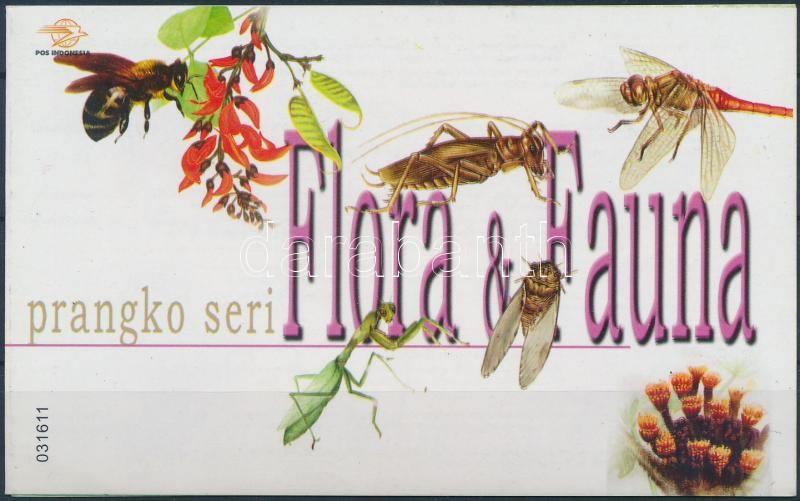 Flora & Fauna stamp booklet, Természet bélyegfüzet