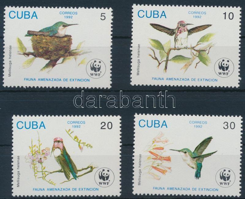 WWF: 4 diff stamps + 4 FDC, WWF: 4 klf bélyeg és 4 FDC