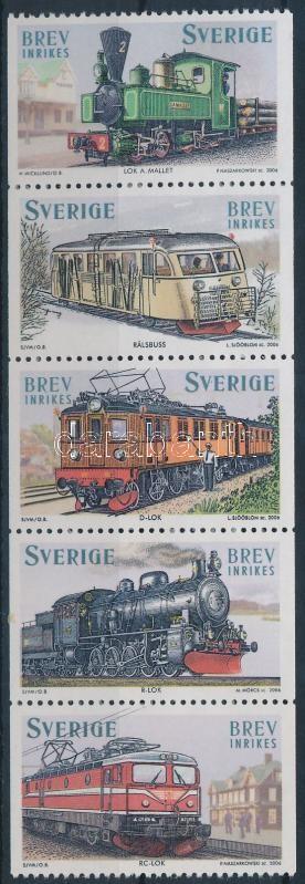 Locomotive stripe of 5, Mozdony ötöscsík
