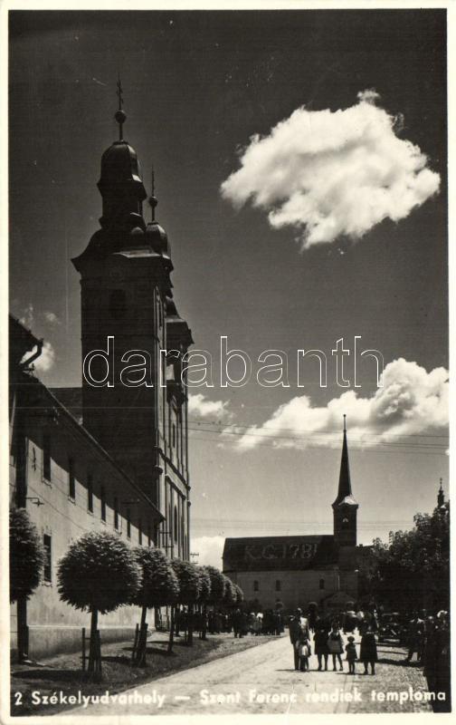 Odorheiu Secuiesc, church, Székelyudvarhely, Szent Ferenc rendiek temploma