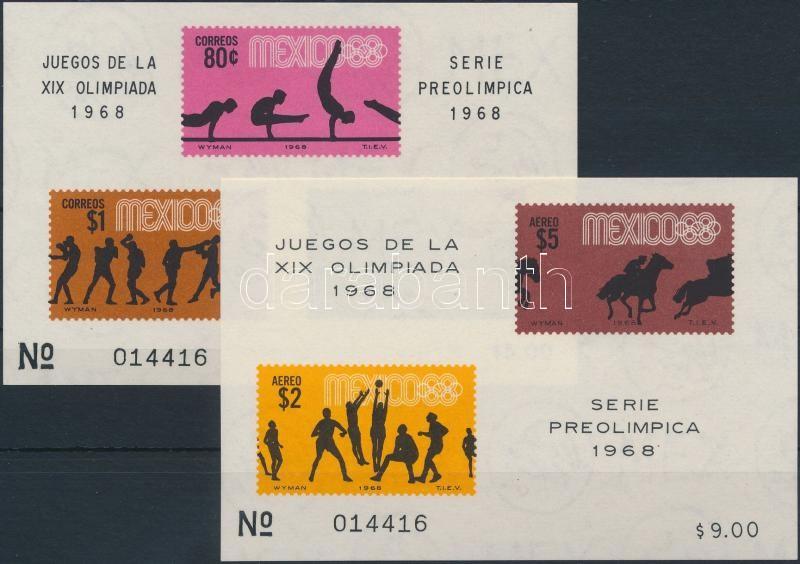 Summer Olympics (IV.) 2 blocks, Nyári Olimpia (IV.) 2 db blokk