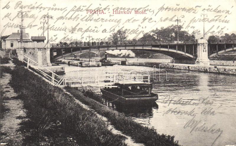 Praha, Prag; Hvlákuv most / bridge