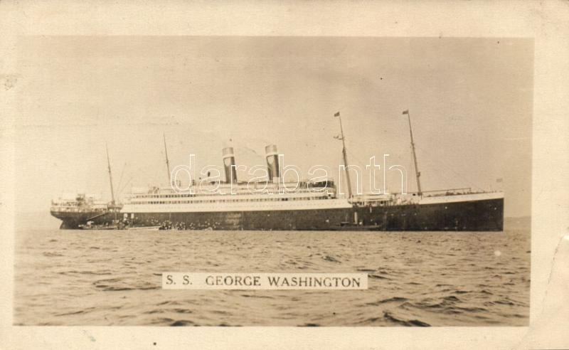 SS George Washington steamship, SS George Washington gőzös