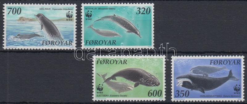 WWF North Atlantic whales set, WWF észak-atlanti bálnák sor