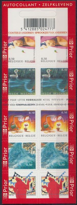 Andersen self-adhesive stamp-booklet, Andersen öntapadós bélyegfüzet