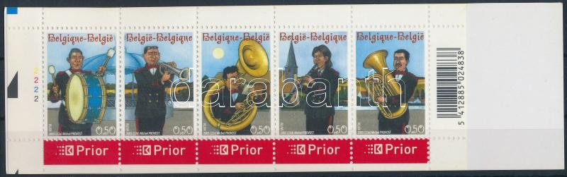 Bands stamp-booklet, Zenekarok bélyegfüzet