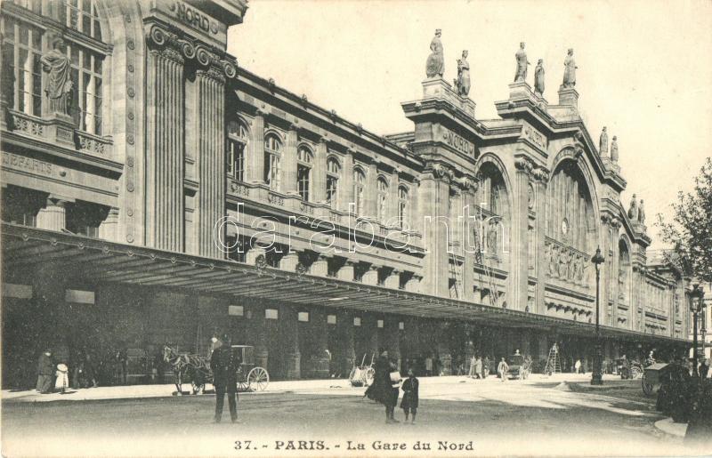 Paris, La Gare du Nord / railway station