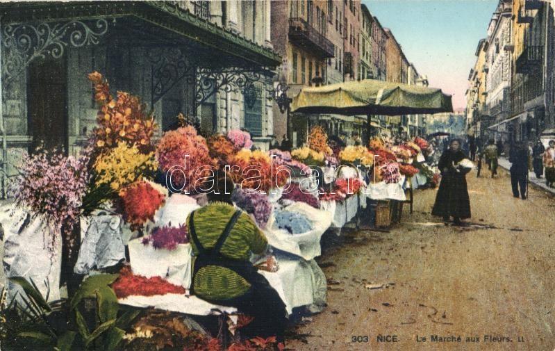 Nice, Marche aux Fleurs / flower market