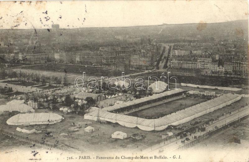 Paris, Champ-de-Mars, Buffalo