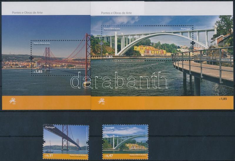 Bridges set 2 values + blockset, Híd sor 2 értéke + blokksor