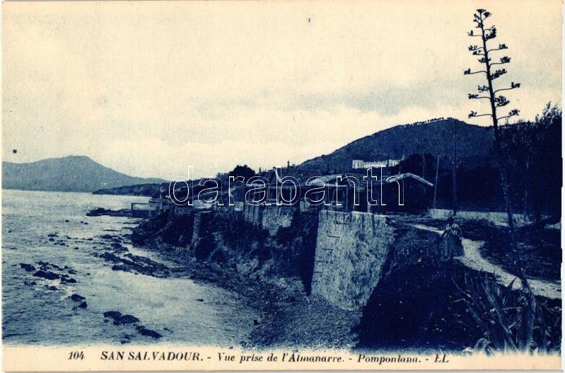 San Salvador, Vue prise de l'Almanarre, Pomponiana / view detail