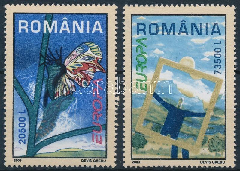 Europa CEPT 2 diff stamps from blocks, Europa CEPT 2 klf blokkból kitépett bélyeg