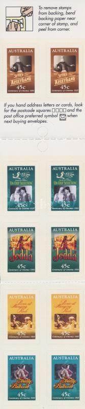 Movie Posters self-adhesive stamp booklet, Filmplakátok öntapadós bélyegfüzet