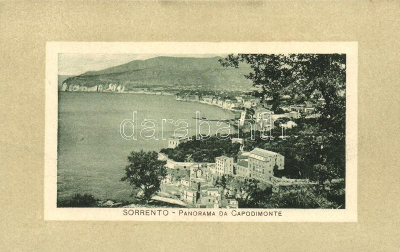 Sorrento, Panorama da Capodimonte