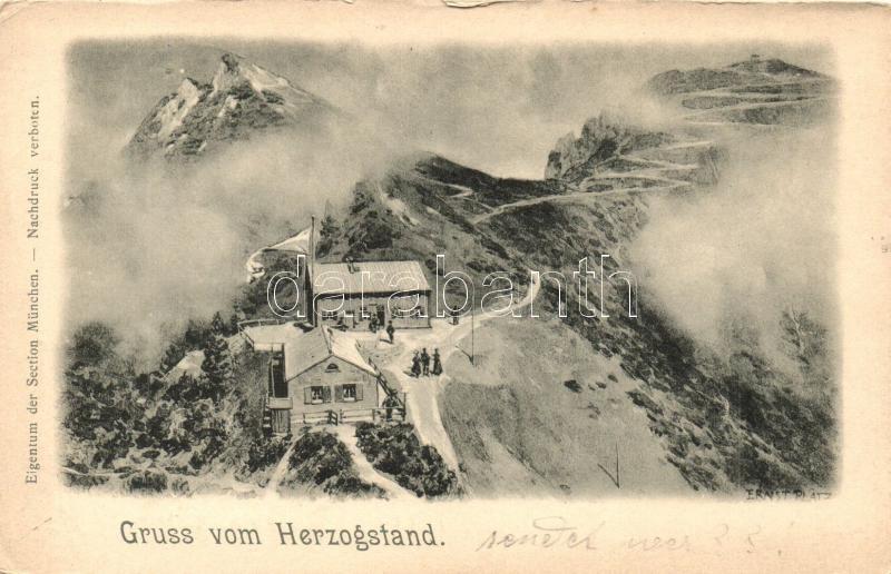 Herzogstand, rest house