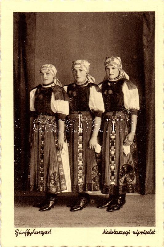 Huedin, Transylvanian folklore, Bánffyhunyad, Kalotaszegi népviselet