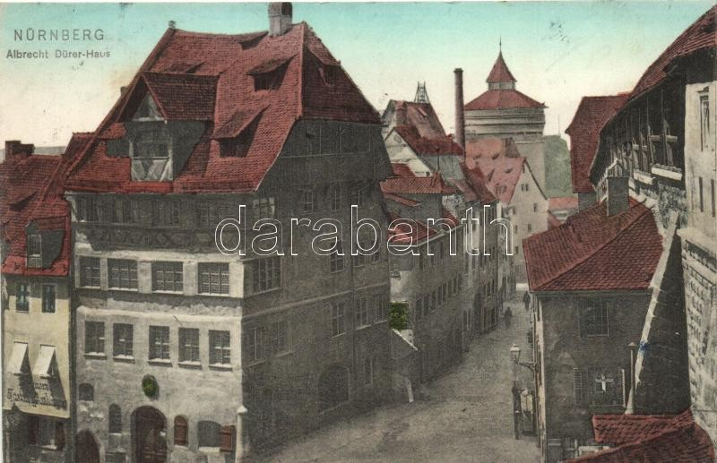 n rnberg nuremberg albrecht d rer haus street. Black Bedroom Furniture Sets. Home Design Ideas