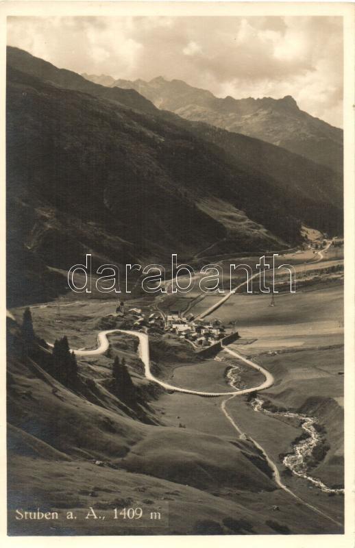 Stuben am Arlberg (Tirol), general view