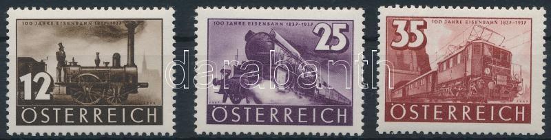Centenary of Austrian railway set, 100 éves osztrák vasút sor