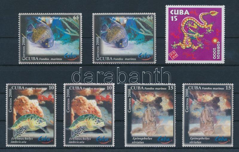 7 stamps, 7 db bélyeg
