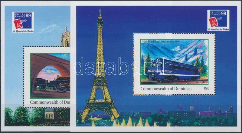 International Stamp Exhibition PHILEXFRANCE '99  Paris block set, Nemzetközi Bélyegkiállítás PHILEXFRANCE '99, Párizs blokksor
