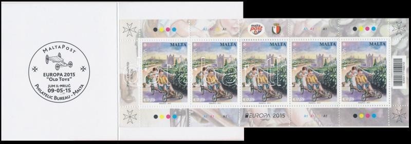 Europa CEPT, Historical Games stamp-booklet, Europa CEPT, Történelmi játékok bélyegfüzet