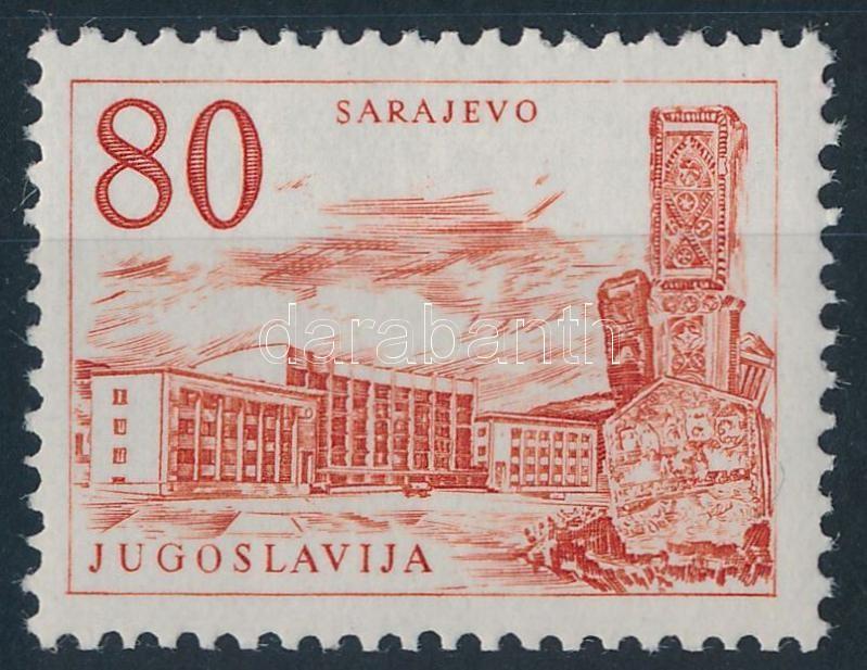 Engineering and Architecture, Technika és építészet fogazott bélyeg