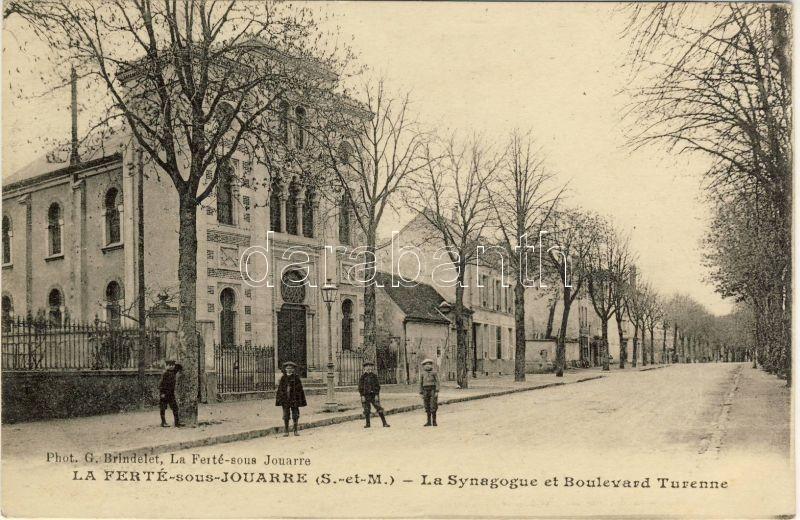 La Ferté-sous-Jouarre, Boulevard Turenne, Synagogue