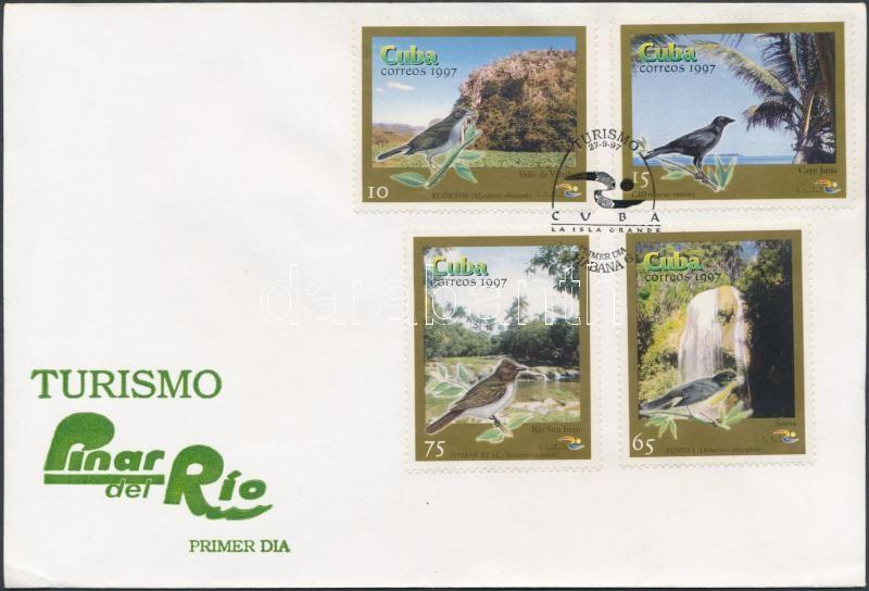 Attractions in Rio province set FDC, Látnivalók Rio tartományban sor FDC-n