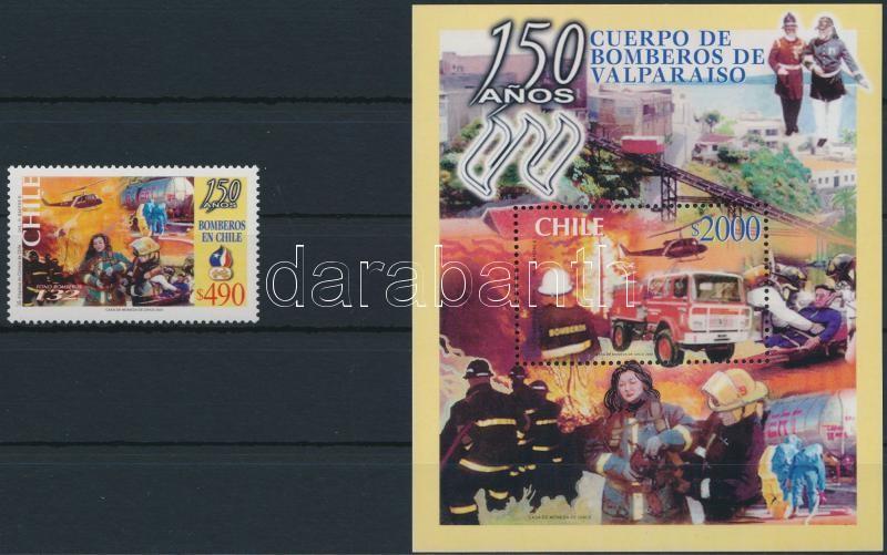 Valparaíso Fire Service + block, Valparaíso-i tűzoltóság + blokk